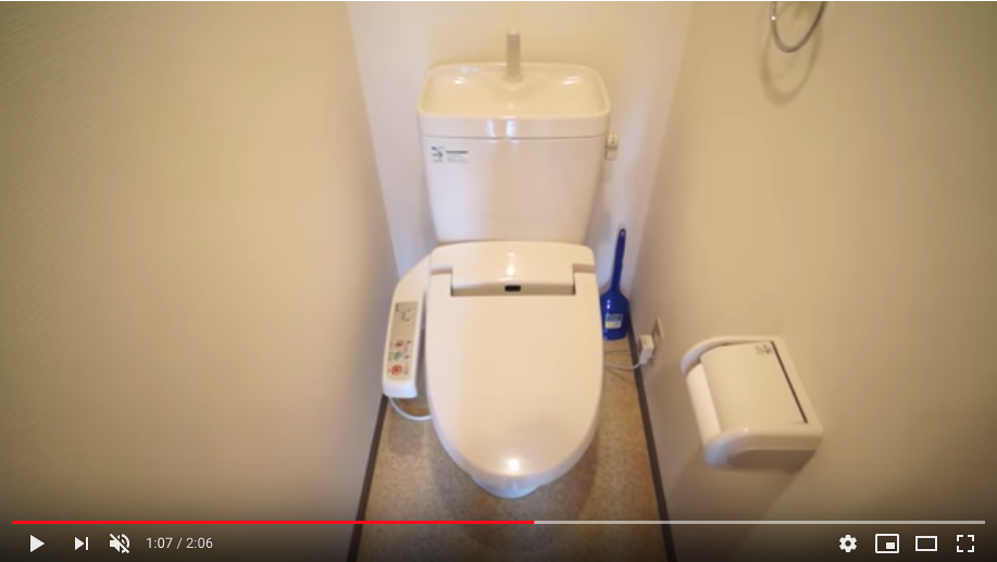 トイレは個室タイプでお掃除もしやすく清潔に保てます。