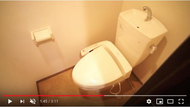 トイレは個室になっております。お掃除もしやすく清潔です。